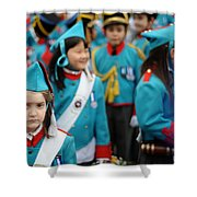 Feast Of Burden Shower Curtain
