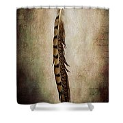 Feather 2 Shower Curtain