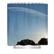 Feather Cloud  Shower Curtain