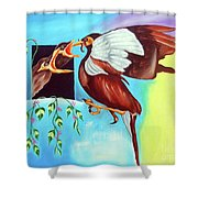 Feather Touch Shower Curtain