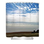 Featherclouds Shower Curtain