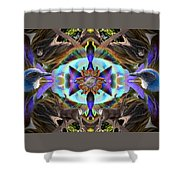 Feathered Nature Shower Curtain