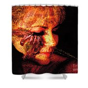 Feathers Of Beauty Shower Curtain