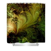 Feathery Fantasy Shower Curtain
