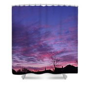 February Clouds Shower Curtain