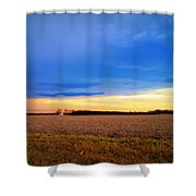 February Fields Shower Curtain