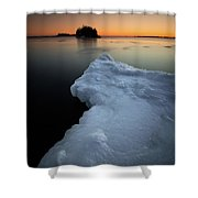 February Thaw  Shower Curtain