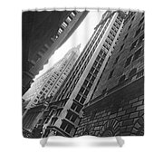 Federal Reserve Bank Facade Shower Curtain