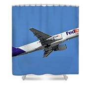 Fedex Express Boeing 757-230 N998fd Phoenix Sky Harbor January 19 2016  Shower Curtain