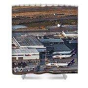 Fedex Express Fedex Ship Center At Oakland International Airport Shower Curtain