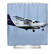 Feeder Shower Curtain