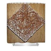 Feel - Tile Shower Curtain