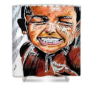 Feel On The Water Shower Curtain