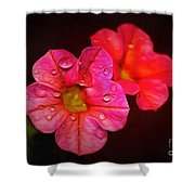 Feeling Alive Shower Curtain