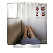 Feet Around The World #14 Shower Curtain