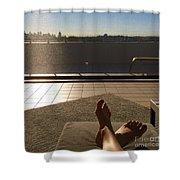 Feet Around The World #15 Shower Curtain