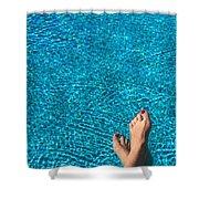 Feet Around The World #19 Shower Curtain