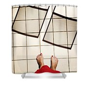 Feet Around The World #28 Shower Curtain
