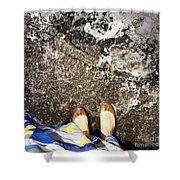 Feet Around The World #6 Shower Curtain