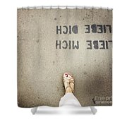 Feet Around The World #8 Shower Curtain