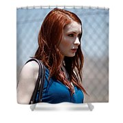 Felicia Day Shower Curtain