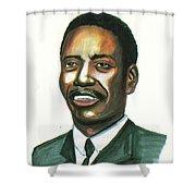 Felix Roland Moumie Shower Curtain