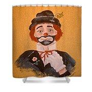 Felix The Clown Shower Curtain