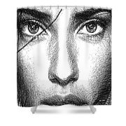 Female Expressions 936 Shower Curtain