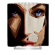 Female Expressions Lvi Shower Curtain