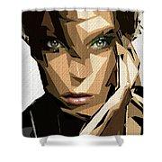 Female Expressions Xliv Shower Curtain