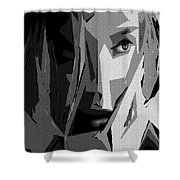 Female Expressions Xlv Shower Curtain