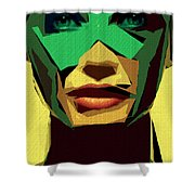 Female Expressions Xv Shower Curtain