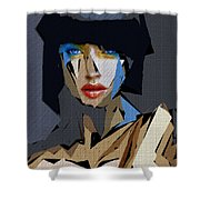 Female Expressions Xvi Shower Curtain