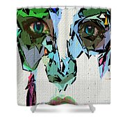 Female Expressions Xvii Shower Curtain