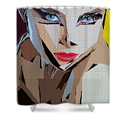 Female Expressions Xviii Shower Curtain