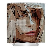 Female Expressions Xx Shower Curtain