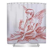 Female Fantasy 1 Shower Curtain