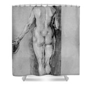 Female Nude 1506 Shower Curtain