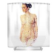 Female Torso #15 Shower Curtain