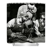 Female Welders - Ww2 Homefront - 1943 Shower Curtain