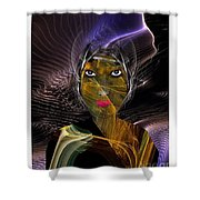 Femme Du Centaure Shower Curtain