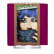 Femme Watcher Shower Curtain