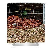 Fence And Chain Shower Curtain
