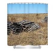 Fence Bails Shower Curtain