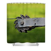 Fence Hardware Shower Curtain