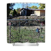 Fence Of Remembrance Shower Curtain