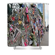 Memories Fence Shower Curtain