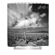 Fence Valley Shower Curtain