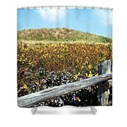 Fence With A View Shower Curtain