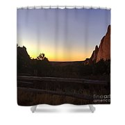Garden Sunrise Shower Curtain